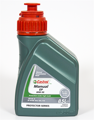 CASTROL MANUAL 154F6A Versnellingsbakolie Inhoud: 1L, 80W-90