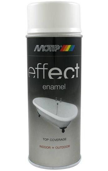 Fantastisk Emalje Spray Maling Hvid - 400 ml. PE77