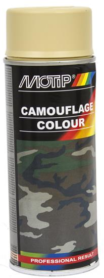 Motip Camouflage Maling RAL 1001 spray, 400 ml