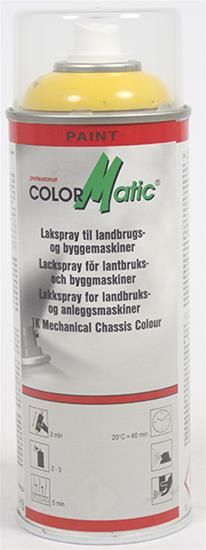 Color Matic Spraymaling New Holland Gul, 400 ml.