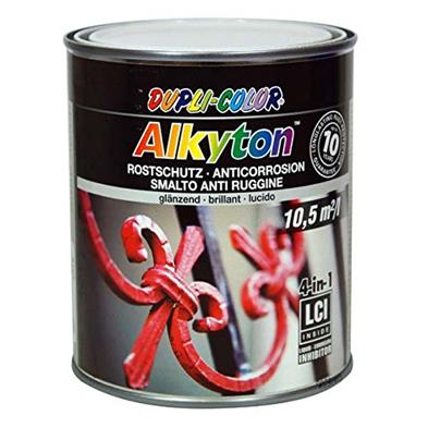 Alkyton Rustbeskyttende maling RAL 9010 750 ml