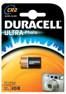 Duracell Ultra Photo CR2 - 3V, 1 stk