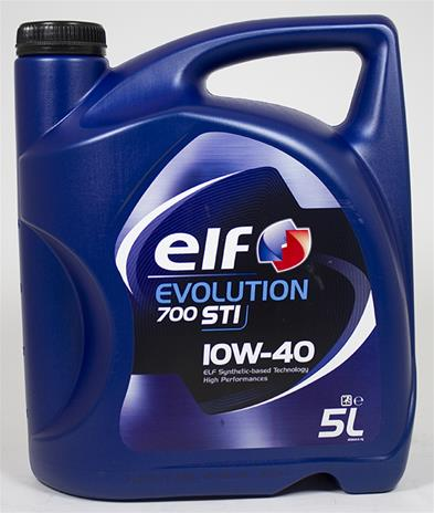Elf Evolution 700 STI 10W40 5 liter