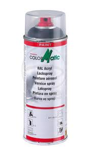 Color Matic RAL 9005 Sort Blank, 400 ml.