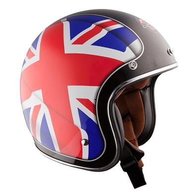 LS2 MC hjelm - Union Jack